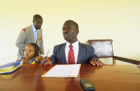 Chairman FPAD Sensetising members in Bugiri
